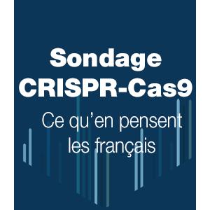 Sondage CRISPR : ce qu'en pensent les français ?