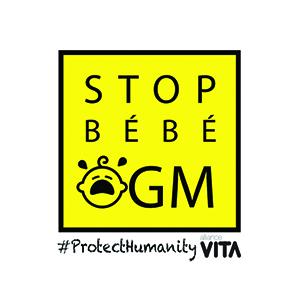 logo Stop Bébé OGM - campagne d'information et d'alerte sur CRISPR-Cas9